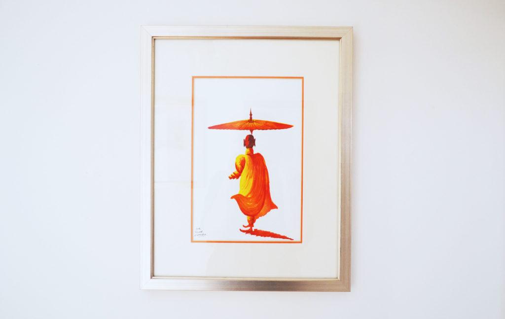 obraz mnicha